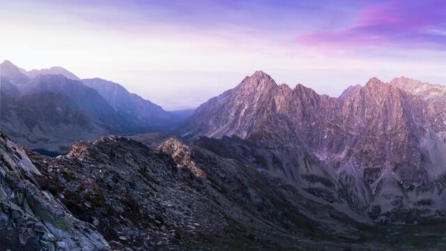 山脈 グレート ディバ イディング